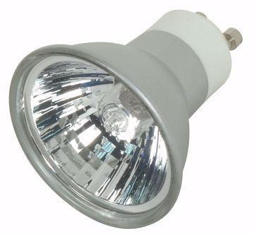 Picture of SATCO S4182 EXN/S/GU10 38' 50MR16 SLVR LEN Halogen Light Bulb