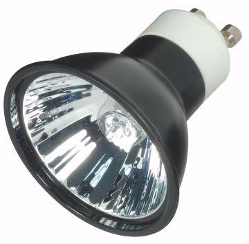 Picture of SATCO S4184 EXN/B/GU10 38' 50MR16 BLK LENS Halogen Light Bulb