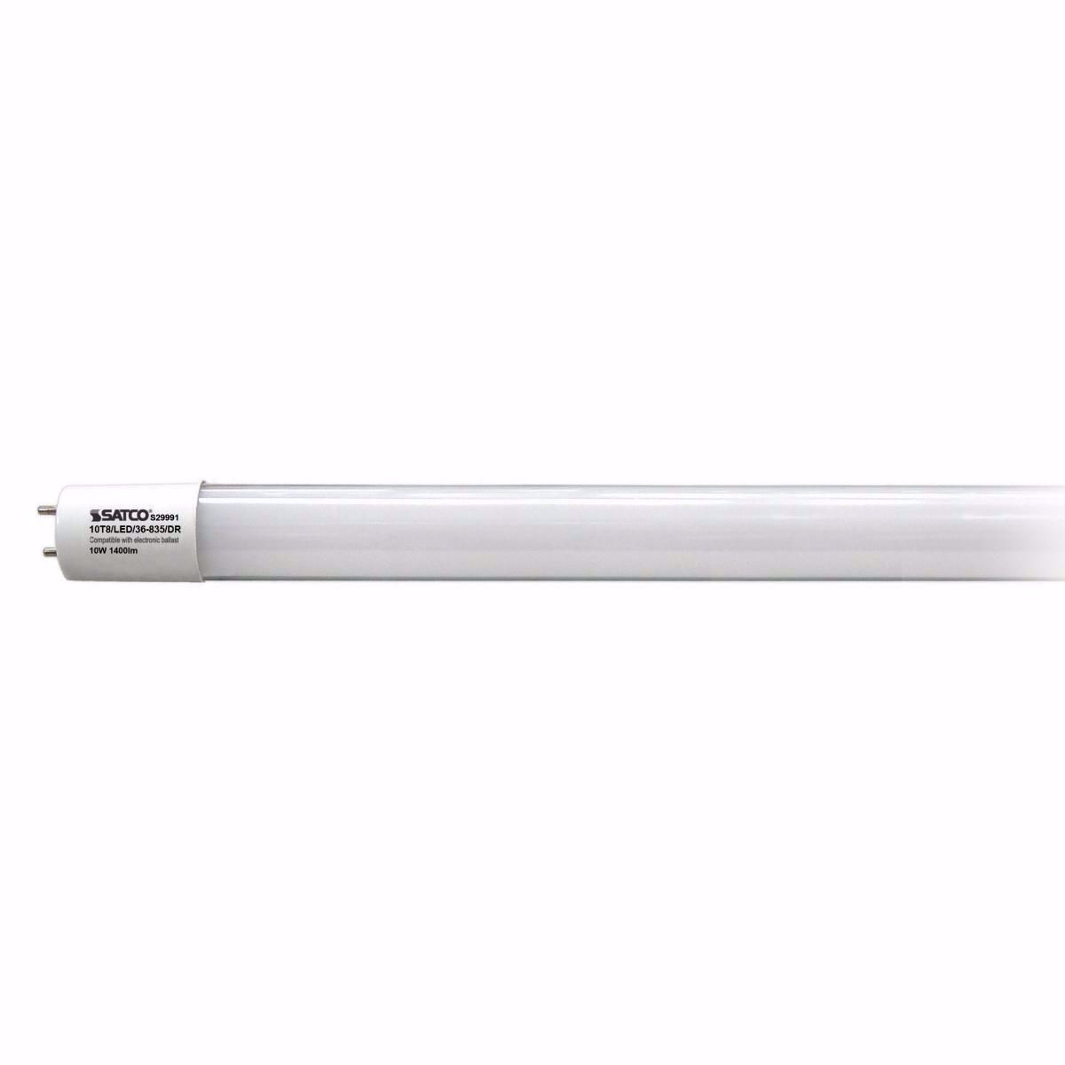 "Picture of SATCO S 29991 10T8/LED/36-835/DR 36"" LED Light Bulb"