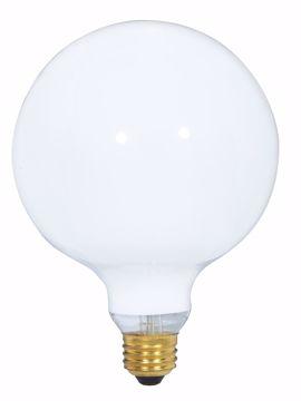 Picture of SATCO S3001 40G40 WHITE Incandescent Light Bulb