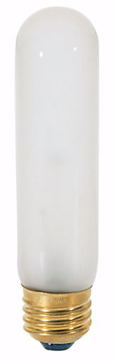 Picture of SATCO S3253 40T10 Standard Frosted Incandescent Light Bulb