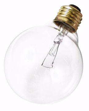 Picture of SATCO S3448 40G25 Standard Clear 120V Incandescent Light Bulb