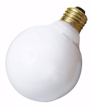 Picture of SATCO S3671 40W G30 Standard WHT Incandescent Light Bulb