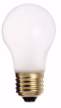 Picture of SATCO S3811 40A15  Frosted BOXED 130V Incandescent Light Bulb