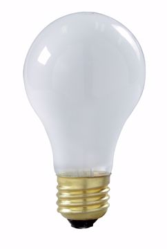 Picture of SATCO S3935 100A21 Standard Frosted LONG LIFE 130V Incandescent Light Bulb