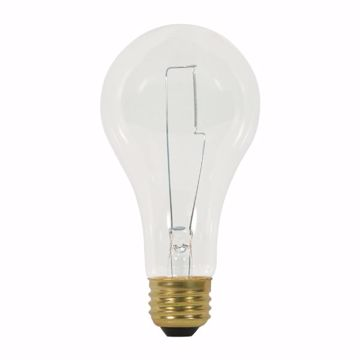 Picture of SATCO S3946 150A21 CLEAR 120V 750HRS Incandescent Light Bulb