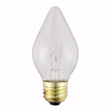 Picture of SATCO S4536 60C15/TF 240V SHATTER TEFLON Incandescent Light Bulb