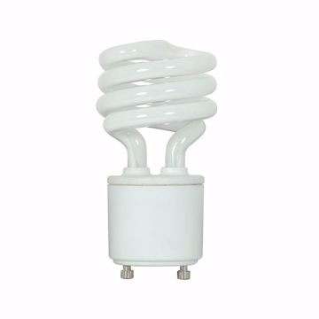 Picture of SATCO S5301 13T2/GU24/2700K/120V/1BL Compact Fluorescent Light Bulb