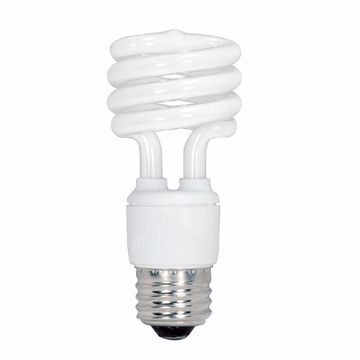 Picture of SATCO S5516 13T2/E26/2700K/120V/1BL Compact Fluorescent Light Bulb