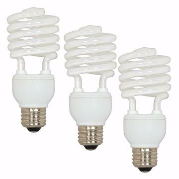 Picture of SATCO S5546 23T2/E26/5000K/120V/3BL Compact Fluorescent Light Bulb