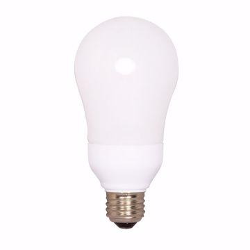 Picture of SATCO S5575 15A19/E26/2700K/120V/1BL Compact Fluorescent Light Bulb