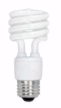 Picture of SATCO S6237 13T2/E26/5000K/120V/4PK Compact Fluorescent Light Bulb