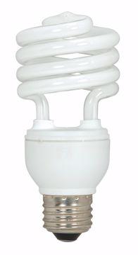 Picture of SATCO S6273 18T2/E26/5000K/120V/3PK Compact Fluorescent Light Bulb