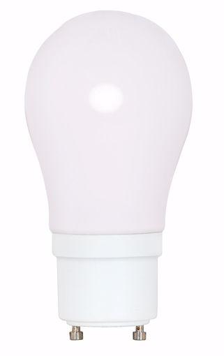 Picture of SATCO S8225 15A19/GU24/2700K/120V/1PK Compact Fluorescent Light Bulb