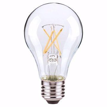 Picture of SATCO S8616 7A19/CL/LED/E26/27K/ES/120V LED Light Bulb