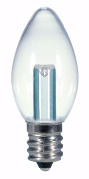 Picture of SATCO S9156 0.5W C7/CL/LED/120V/CD LED Light Bulb